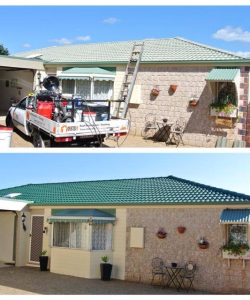 Roof Restoration – Tiled Roof