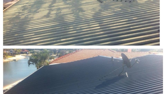 Colour bond roof repaint.
