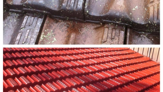 Roof Restoration Portfolio Gold Coast Splatter Up