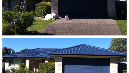 Roof Completely Restored In Upper Coomera